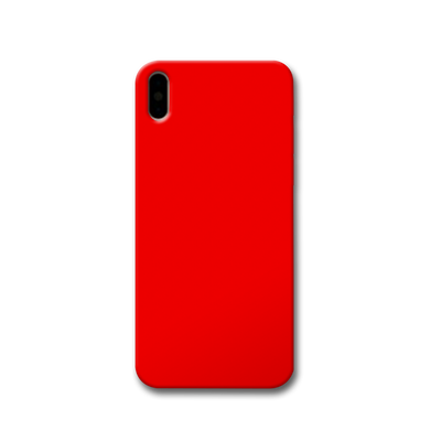 Bright Red Apple iPhone X Case