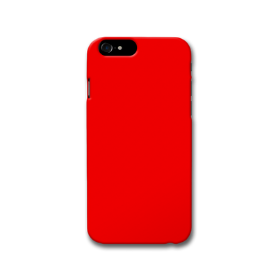 Bright Red Apple iPhone 8 Case