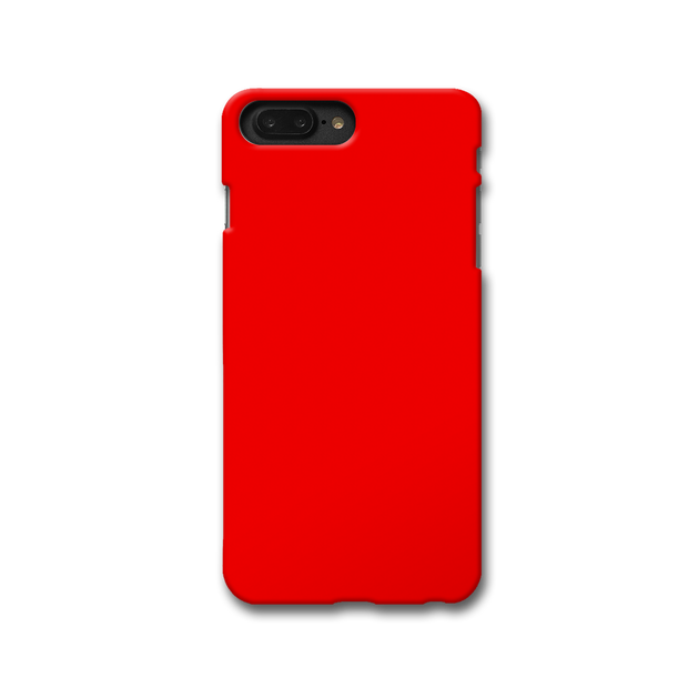 Bright Red Apple iPhone 8 Plus Case
