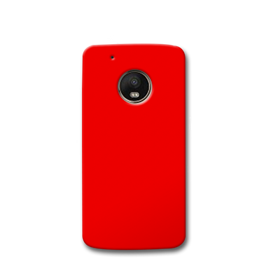 Bright Red Moto G5s Case