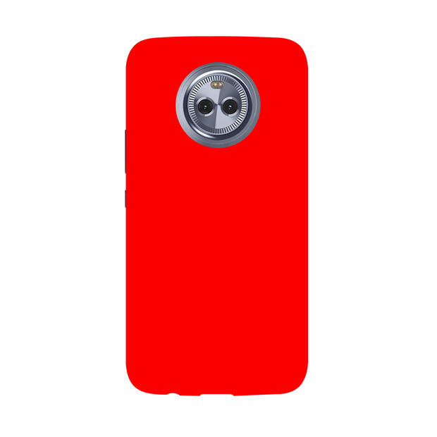 Bright Red Moto X4 Case