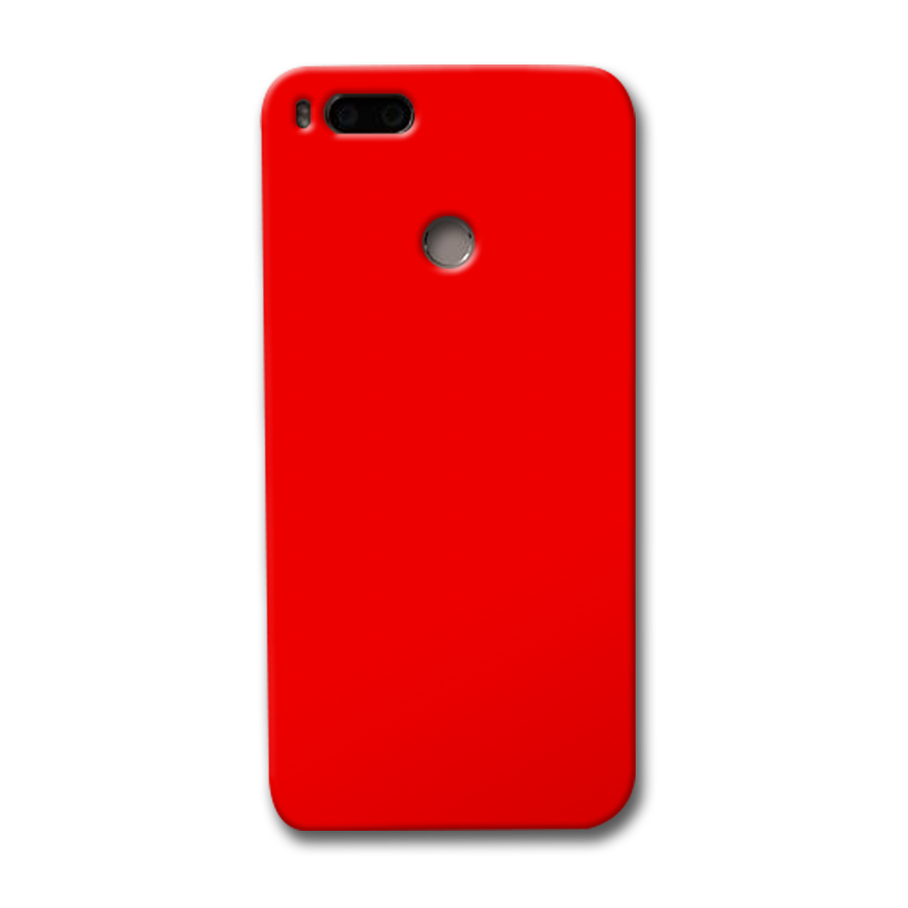 Bright Red Redmi Mi A1 Case
