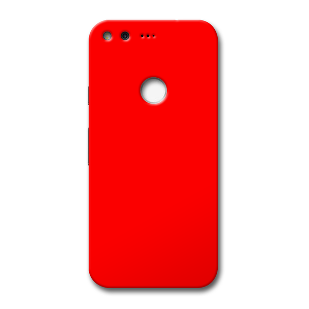 Bright Red Google Pixel Case