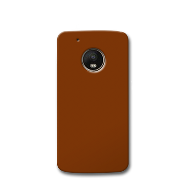 Brown Moto G5s Case