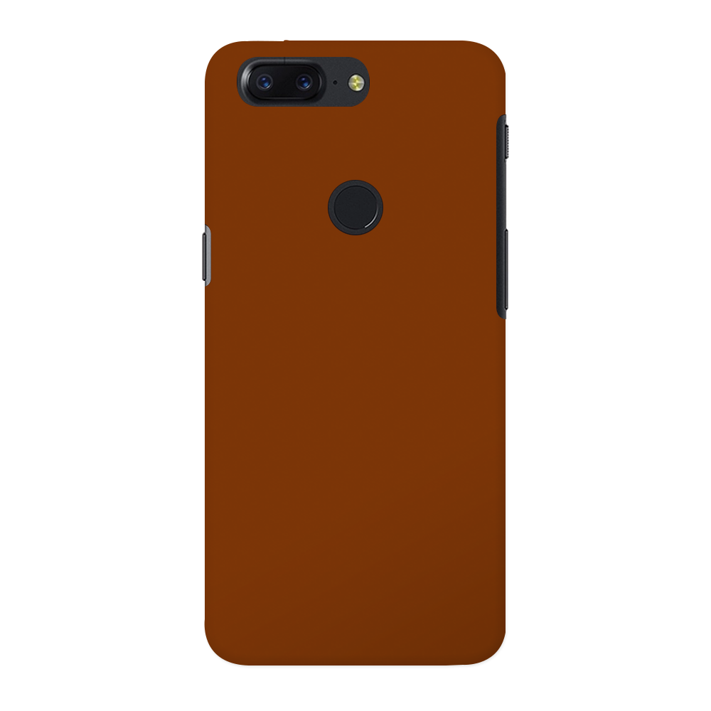 Brown OnePlus 5T Case