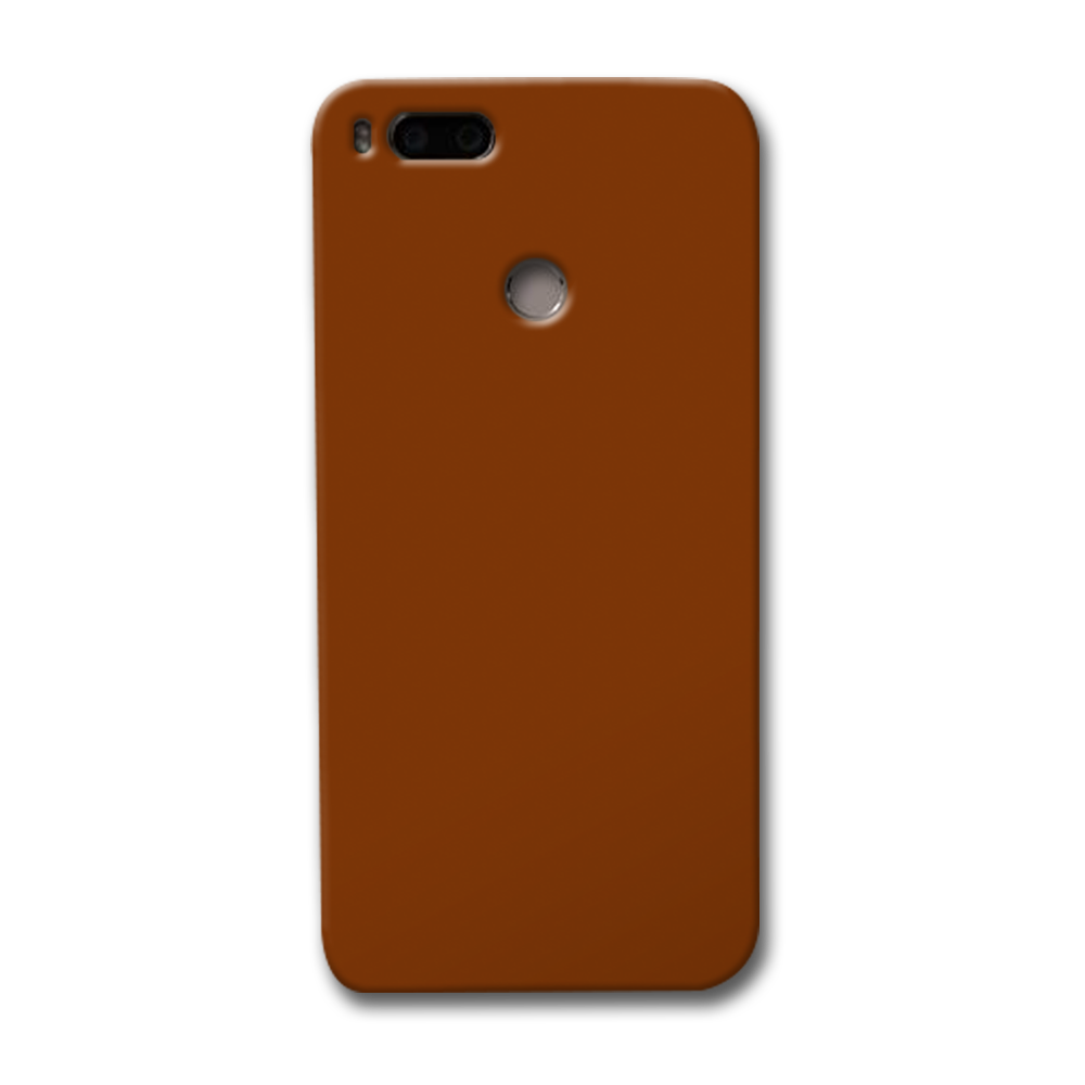 Brown Redmi Mi A1 Case