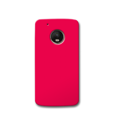 Hot Pink Moto G5s Case
