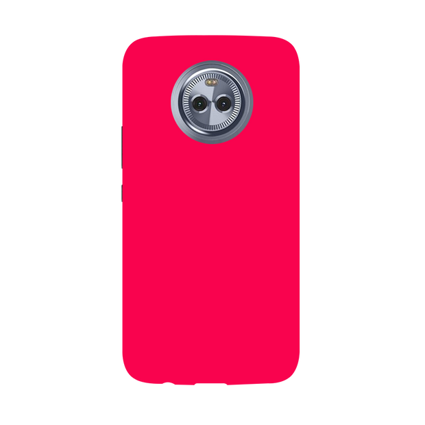Hot Pink Moto X4 Case