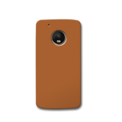 Light Brown Moto G5s Case