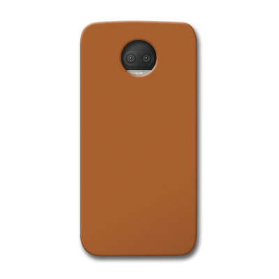 Light Brown Moto G5s Plus Case