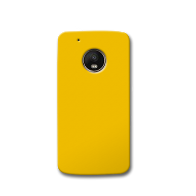 Yellow Crome Moto G5s Case