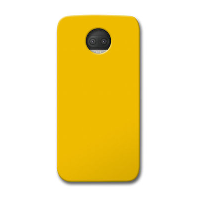Yellow Crome Moto G5s Plus Case
