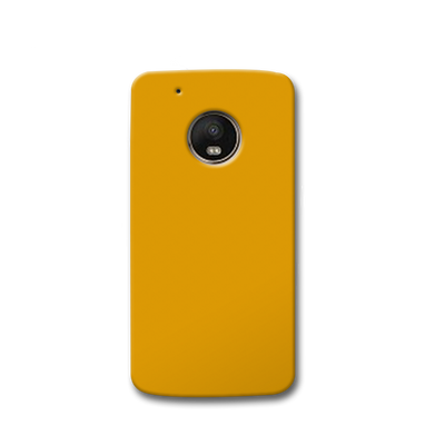 Yellow Ochre Moto G5s Case