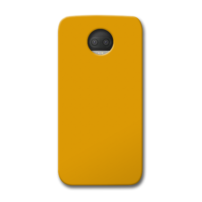 Yellow Ochre Moto G5s Plus Case