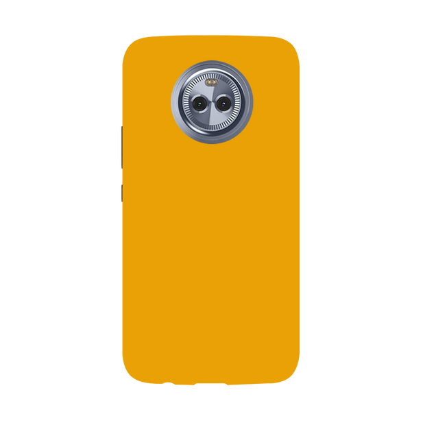 Yellow Ochre Moto X4 Case