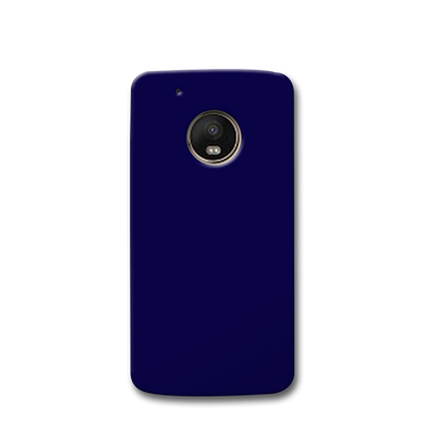 Navy Blue Moto G5s Case