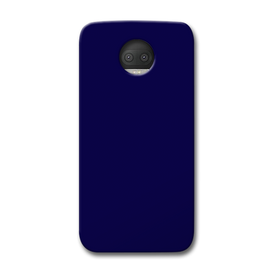 Navy Blue Moto G5s Plus Case