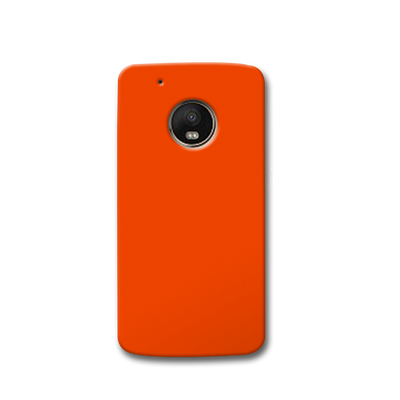 Orange Moto G5s Case