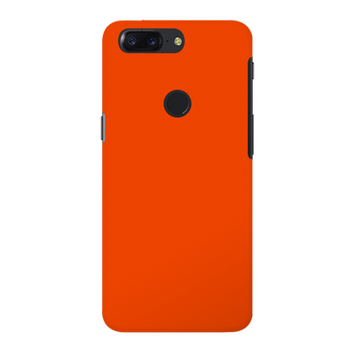 Orange OnePlus 5T Case