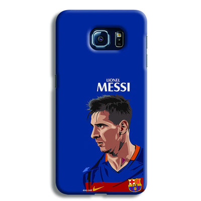 Messi Blue Samsung S6 Case