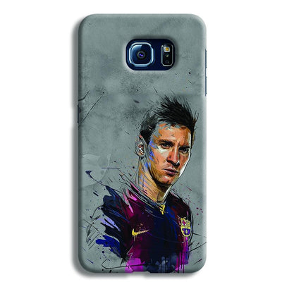 Messi Grey Samsung S6 Case