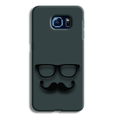 Cute mustache Gray Samsung S6 Case