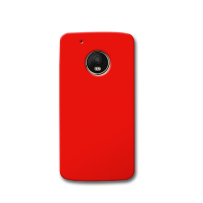 Red Moto G5s Case