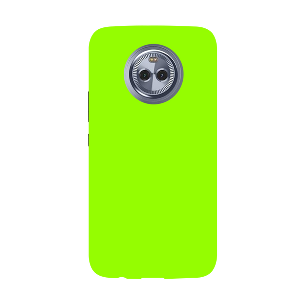 Sap Green Moto X4 Case