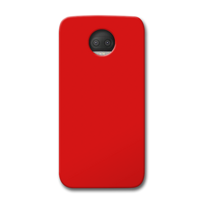 Light Red Moto G5s Plus Case