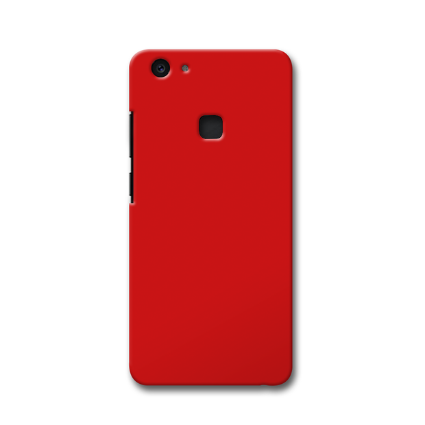 Light Red Vivo V7 Plus Case