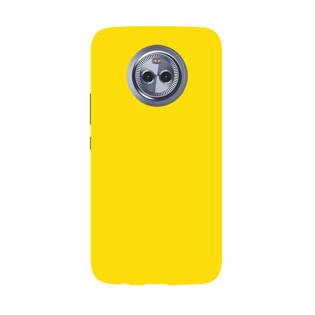 Yellow Shade Moto X4 Case