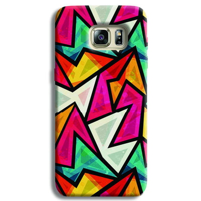 Angular Pattern Samsung S6 Edge Case