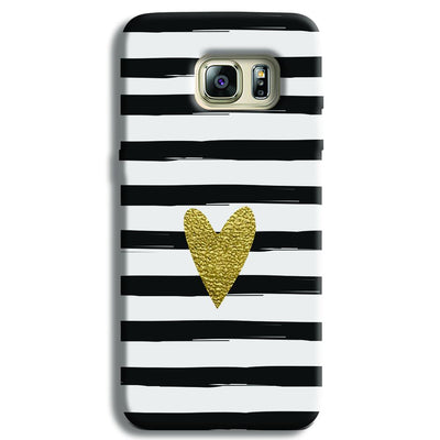 Bling Heart Samsung S6 Edge Case