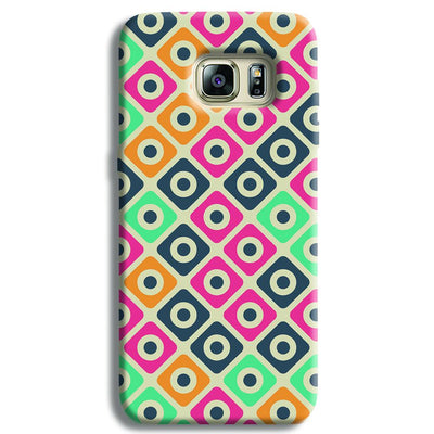 Shapes Pattern Samsung S6 Edge Case