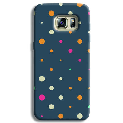 Polka Dot Pattern Samsung S6 Edge Case