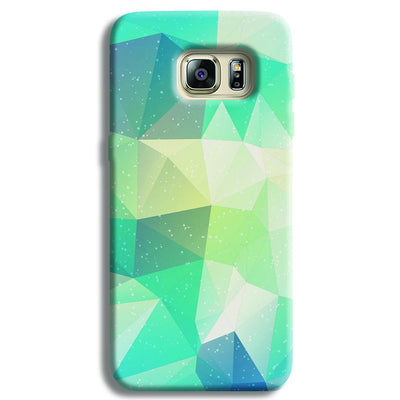 Tiles Mint Samsung S6 Edge Case