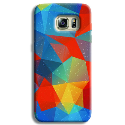 Mint Color Tiles Samsung S6 Edge Case