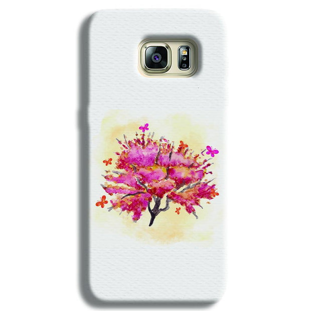 Butterfly Bush Samsung S6 Edge Case