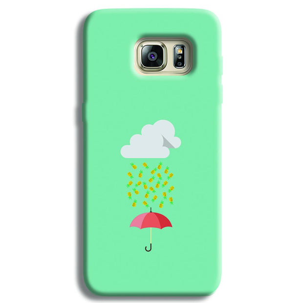 Pineapple Samsung S6 Edge Case