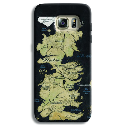 Game of Thrones Map Samsung S6 Edge Case