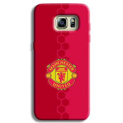 Manchester United Samsung S6 Edge Case