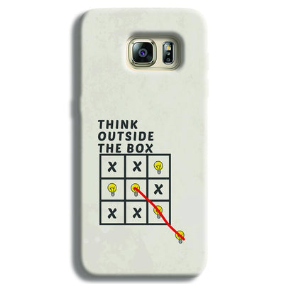 Think Outside the Box Samsung S6 Edge Case