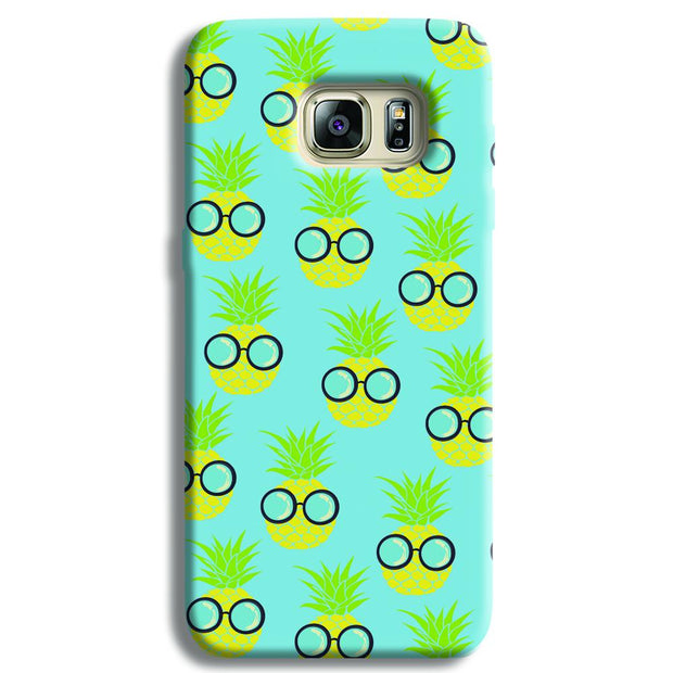 Cool Pineapple Samsung S6 Edge Case