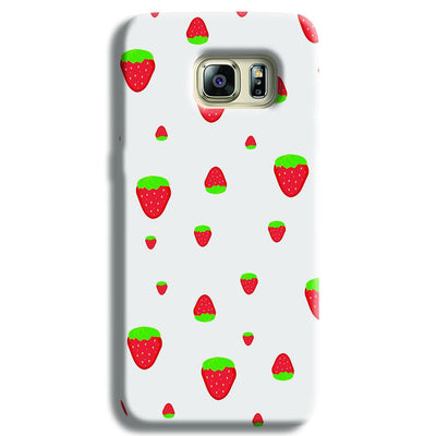 Strawberry Samsung S6 Edge Case