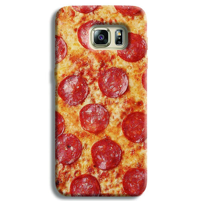 Pepperoni Pizza Samsung S6 Edge Case