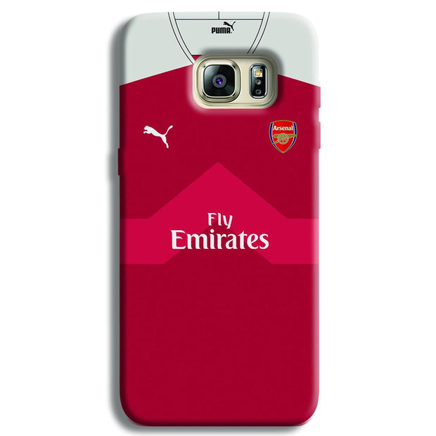 Arsenal F.C. Jersey Samsung S6 Edge Case