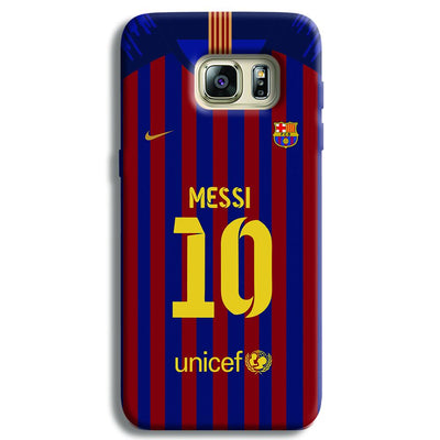 Messi (FC Barcelona) Jersey Samsung S6 Edge Case