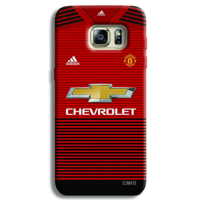 Manchester United Jersey Samsung S6 Edge Case