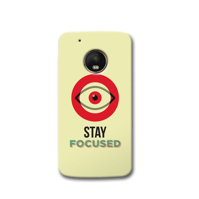 Stay Focussed Moto G5s Case