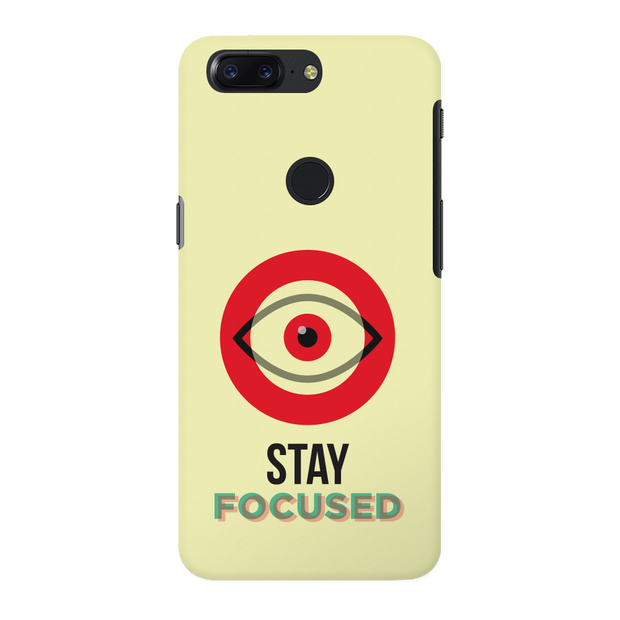 Stay Focussed OnePlus 5T Case